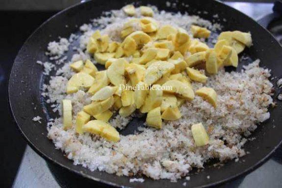 Banana Filling Pancake Recipe - Homemade Pancake