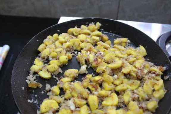 Banana Filling Pancake Recipe - Tasty Pancake