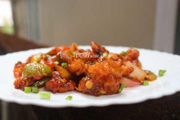 Chilly Cauliflower Recipe - Homemade Dish