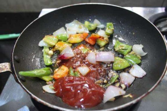 Chilly Cauliflower Recipe - Vegetarian Dish