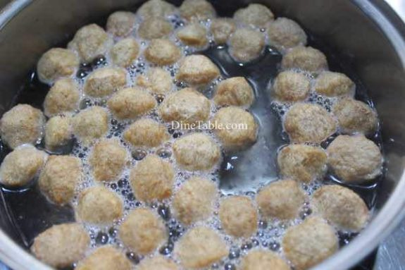 Chilly Soya Chunks Recipe - Evening Snack