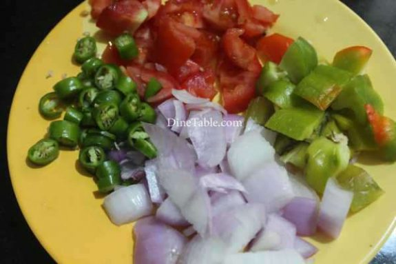 Chilly Soya Chunks Recipe - Chinese Dish