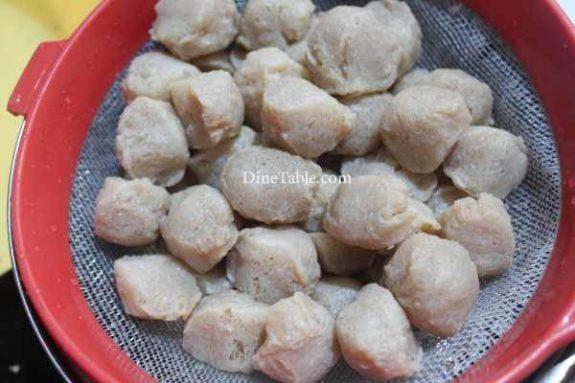 Chilly Soya Chunks Recipe - Tasty Dish