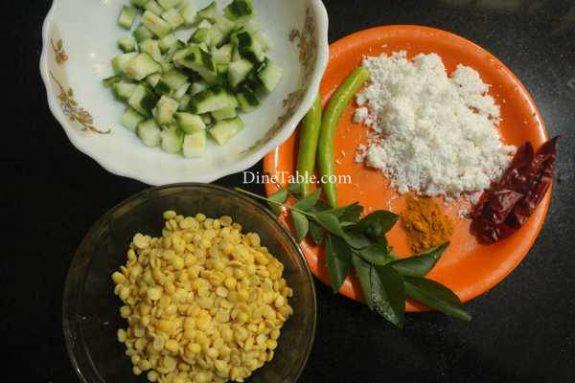 Peechinga Parippu Curry Recipe - Kerala Curry