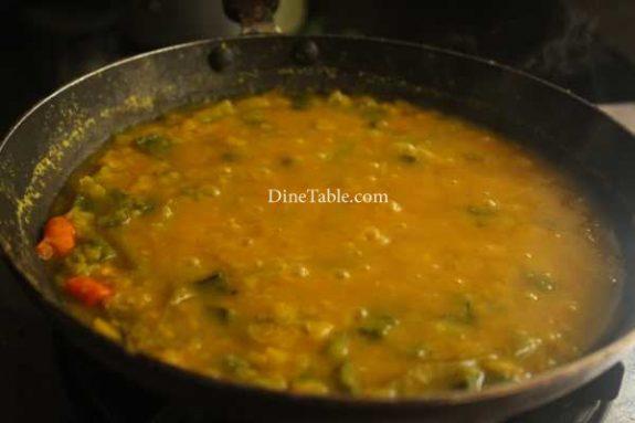Peechinga Parippu Curry Recipe - Yummy Curry
