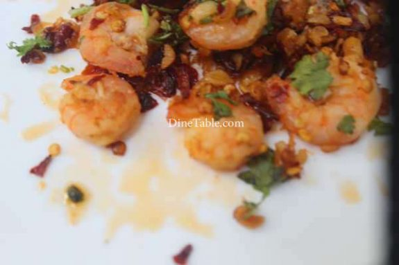 Spicy Garlic Prawns Recipe - Easy Dish