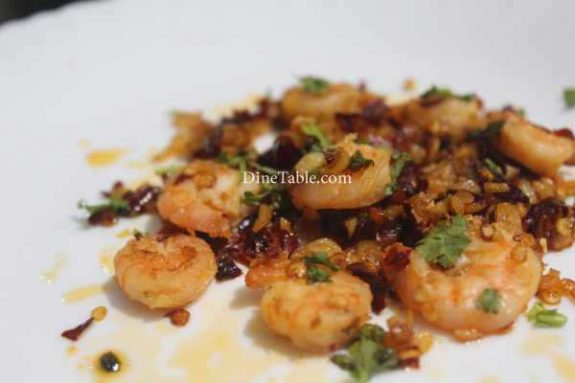Spicy Garlic Prawns Recipe - Yummy Dish
