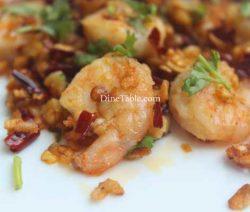Spicy Garlic Prawns Recipe - Simple Dish