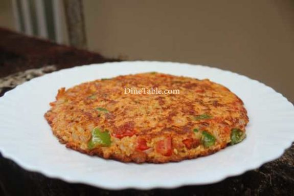 Oats Omelette Recipe - Homemade Dish