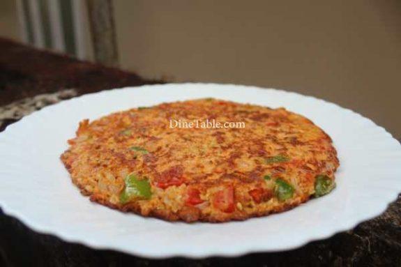 Oats Omelette Recipe - Homemade Dish