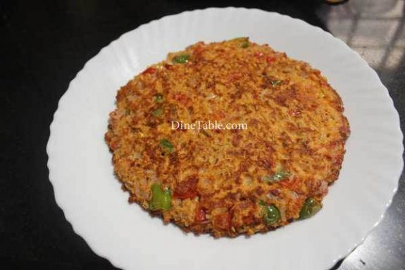 Oats Omelette Recipe - Egg Dish