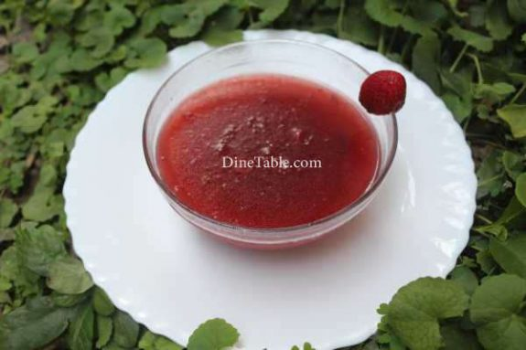 Strawberry Pudding Recipe - Easy Dish