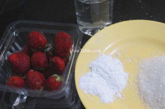 Strawberry Pudding Recipe - Delicious Dish