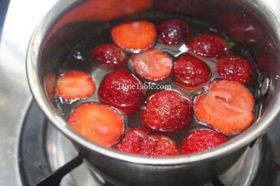 Strawberry Pudding Recipe - Homemade Dish