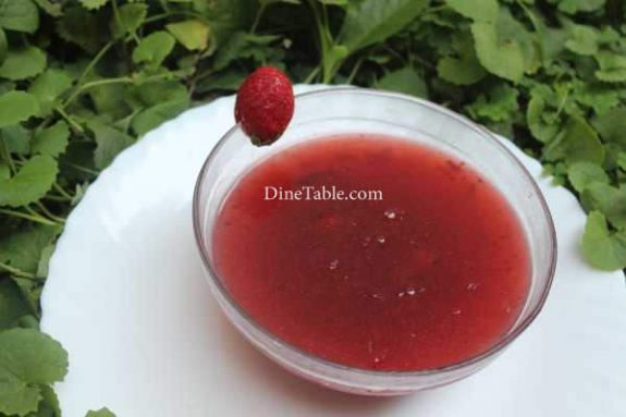 Strawberry Pudding Recipe -Smooth Dish