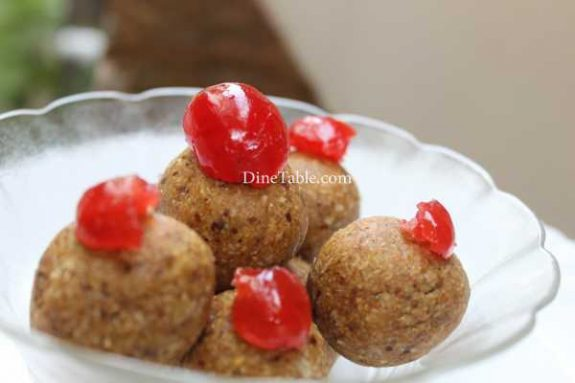 Dates & Oats Ladoo Recipe - Tasty Dish