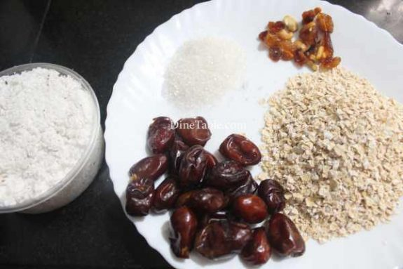 Dates & Oats Ladoo Recipe - Sweet Dish