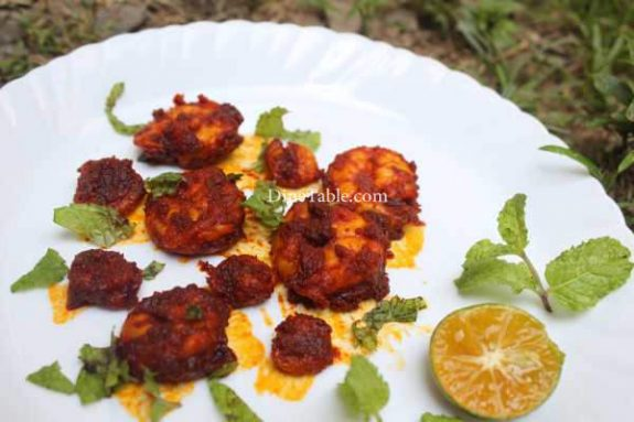 Goan Prawns Fry Recipe - Super Dish
