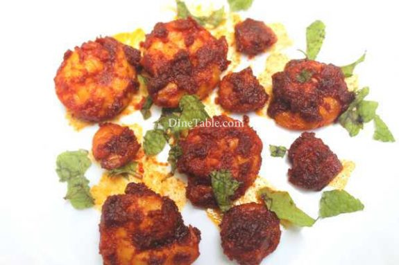 Goan Prawn Fry Recipe - Simple Dish