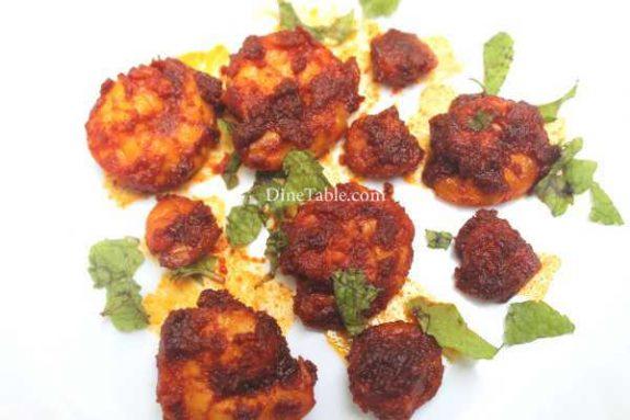 Goan Prawn Fry Recipe - Simple Dish