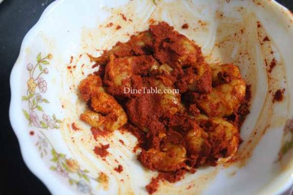 Goan Prawn Fry Recipe - Healthy Dish