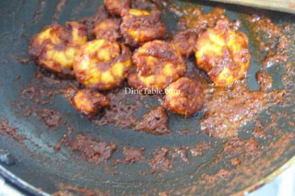 Goan Prawns Fry Recipe