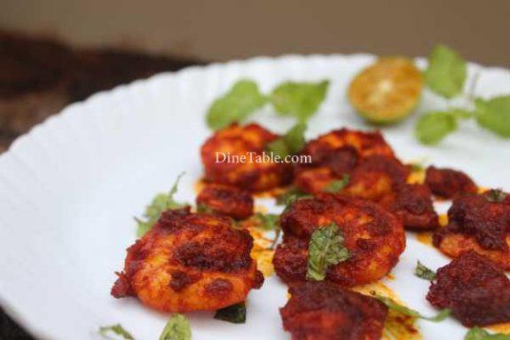 Goan Prawns Fry Recipe - Indian Dish