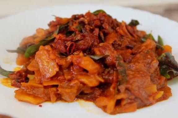 Jack Fruit Beef Mix Recipe - Healthy Dish