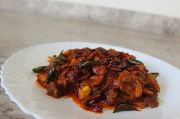 Jack Fruit Beef Mix Recipe - Kerala Dish