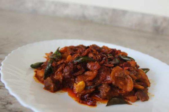 Jack Fruit Beef Mix Recipe - Kerala Dish