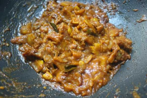 Jack Fruit Beef Mix Recipe - Spicy Dish