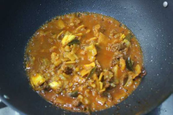 Jack Fruit Beef Mix Recipe - Traditional Dish
