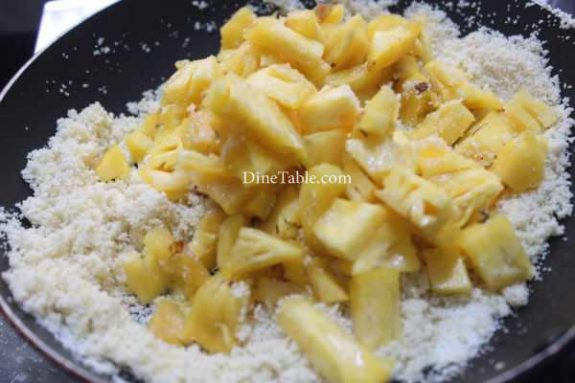 Pineapple Kesari Recipe - Homemade Dish