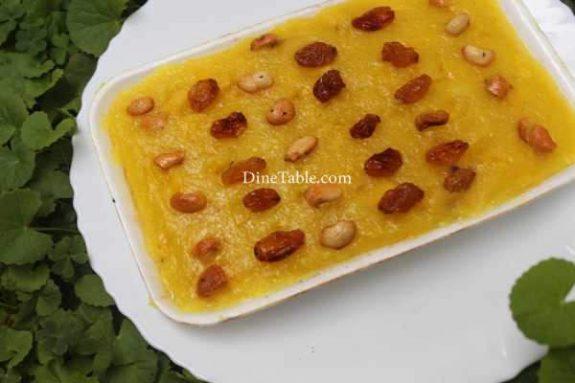Pineapple Kesari Recipe - Sweet Dish