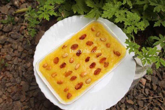 Pineapple Kesari Recipe - Dessert Dish