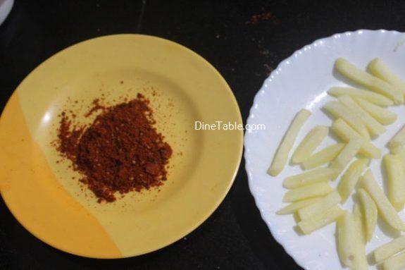 Peri Peri French Fries Recipe - Healthy Potato