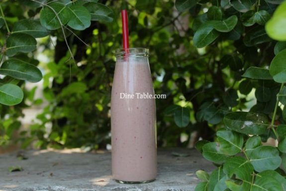 Strawberry Plum Smoothie Recipe - Healthy Drink Recipe