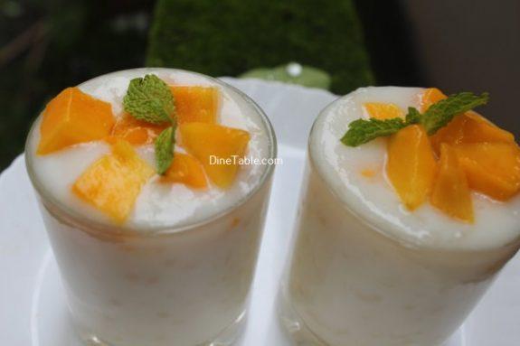 Mango Sago Dessert Recipe