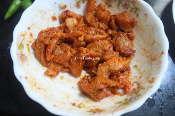 Spicy Chicken Strips Recipe - Kerala Dish