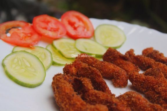 Spicy Chicken Strips Recipe - Easy Dish