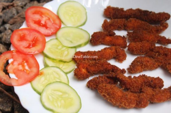 Spicy Chicken Strips Recipe - Tasty Dish