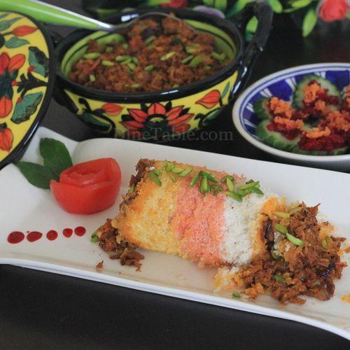 Sea Puttu / സീ പുട്ട് - Delicious Variety Puttu Recipe