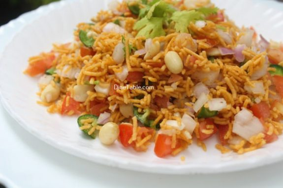 Sev Chaat Recipe - Quick Chaat