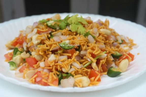 Sev Chaat Recipe - Yummy Chaat
