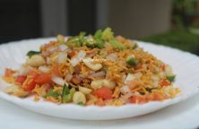 Sev Chaat Recipe - Crunchy Chaat