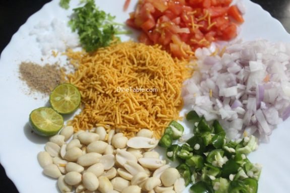 Sev Chaat Recipe - Homemade Chaat