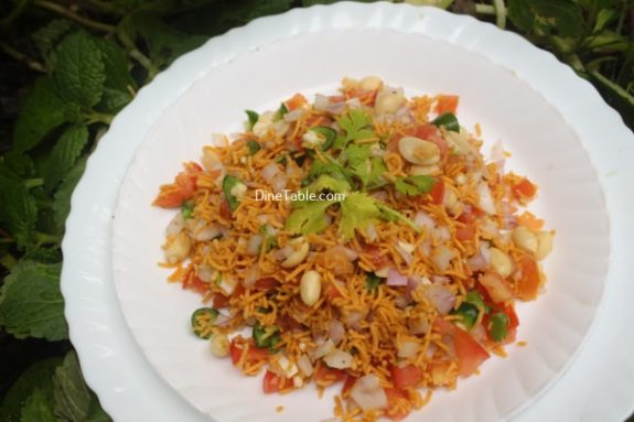 Sev Chaat Recipe - Delicious Chaat