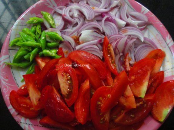 Kerala Style Tomato RoastRecipe - Kerala Dish