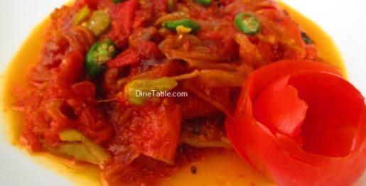Kerala Style Tomato RoastRecipe - Easy Dish