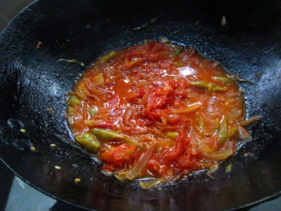 Kerala Style Tomato RoastRecipe - Delicious Dish